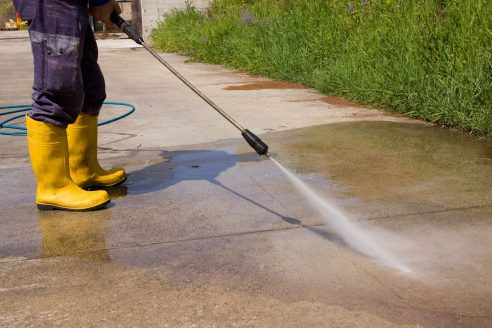 Driveway Cleaning and power washing